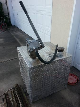 50 Gallon Fuel Transfer Tank - Manual Pump - $100 (SouthSide)