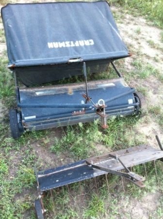 CRAFTMAN SWEEPER, and REAR PIPE BUMPER (Three Rivers)