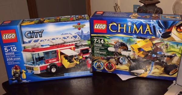 Legos Chima and city  -   x0024 50  Corpus