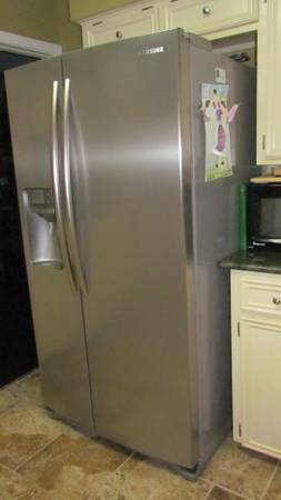 Preselling Samsung Stainless Fridge, Jungle Gym Credenza - $750 (The Country Club )