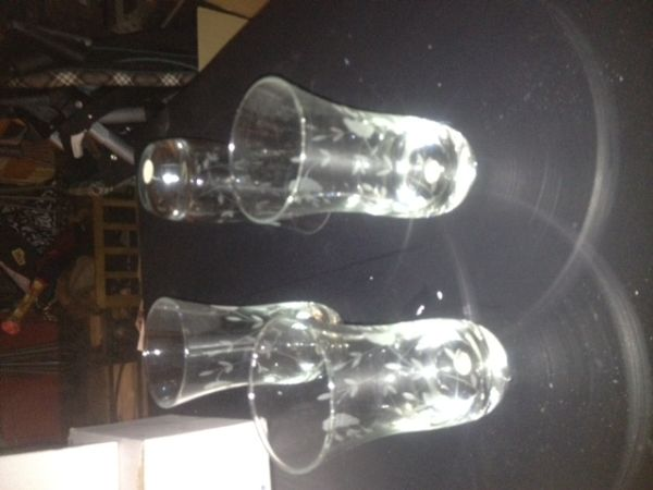 set of 4 Princess House glasses - $20 (staples saratoga)