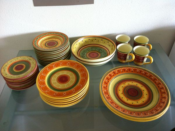 Pier 1 dishes - $65 (kings crossing)