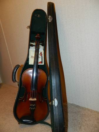 Antonius Stradivarius Fiddle- Copy - $450 (Rockport)
