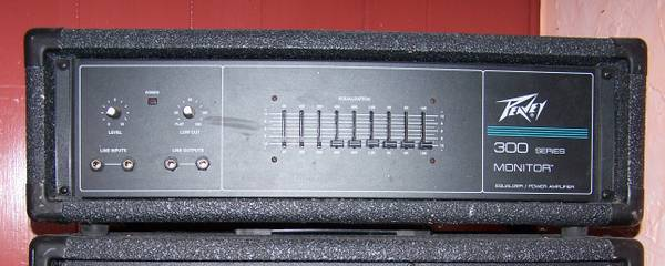 Peavey 300 Series Monitor Equalizer Power Amp - $100 (Rockport)