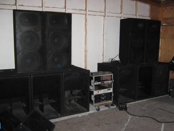 KILLER PA,  SONIDO THIS IS IT - $9500 (BISHOP TEX)