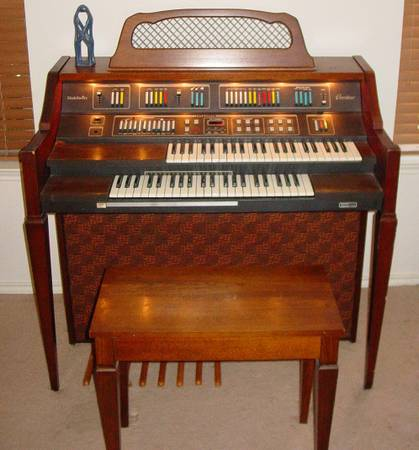 BALDWIN OVERTURE FUN MACHINE ORGAN - $250 (Rockport)