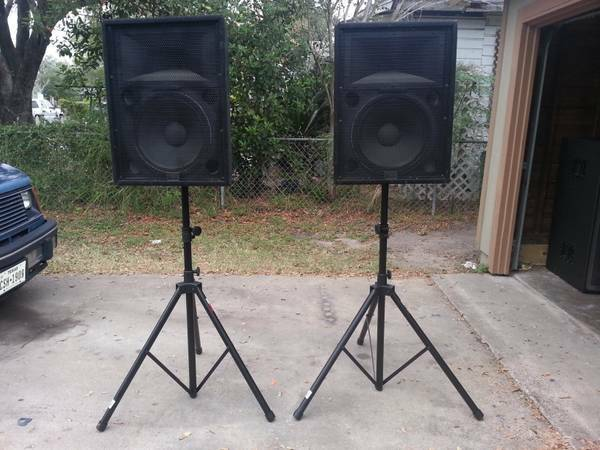 Peavey 15 inch HDH Speakers - $300 (Kingsville)