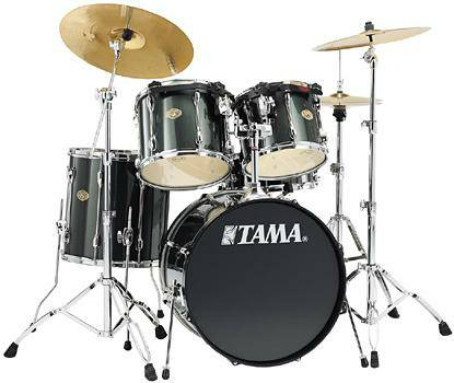 Tama RockStar Drum Set 4Piece W hardware cymbals - $500 (williams and everheart)