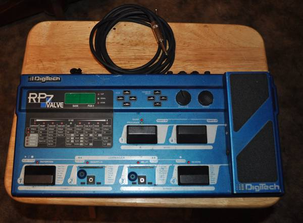 Digitech RP7 Valve Guitar Processor-Stompbox - $50 (Corpus Christi)
