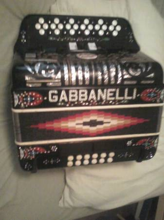 Accordion Gabanelli g - $1500 (Calallen)