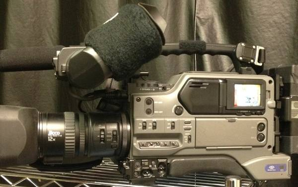 Sony DSR 250 MiniDV CameraCasePwr Supply  Light - x0024599