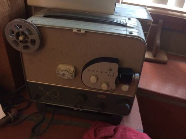Old movie projector -   x0024 40  Portland