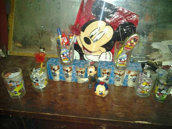 Mickey Mouse items  You can meet me in s local place