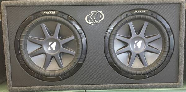 Competition Kicker 12 inch Subwoofers - $1 (Staples)