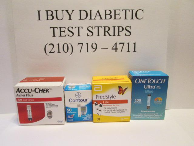 Sell your diabetic test strips here in San Antonio 210 7 1 9 - 4 7 1 1
