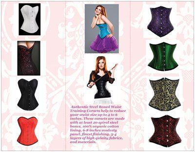 Waist Training Corsets124Steel Boned124Authentic124Organic Corset USA