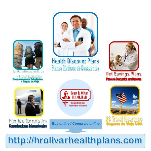H R Olivar Planes Mdicos de Descuentos  Discount Health Plans