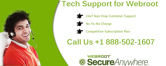 888 502-1607  Get Instant Webroot Antivirus Tech Support Services