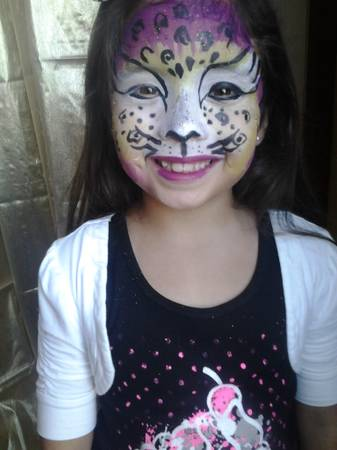 flat fee face painting. full faces no hourly charges (corpus christi)