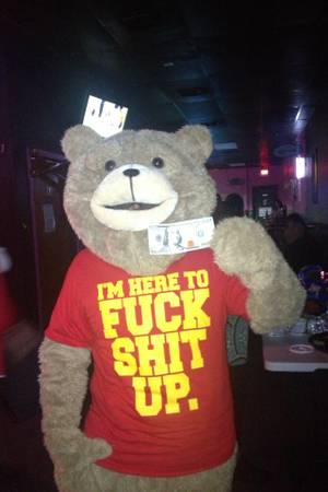 Book Ted for any special occasion
