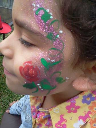 face painting for parties 50$..will do slumber parties also (corpus 78414)