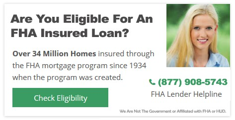 FHA Home Loans for Bad Credit - Low Money Down FHA Loans