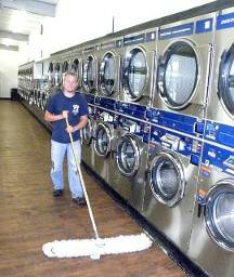 New Laundry Opens Oct 1 (White Oak, TX)