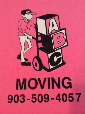 ABC MOVING of TYLER --- MOVE FOR LESS        SMITH COUNTY