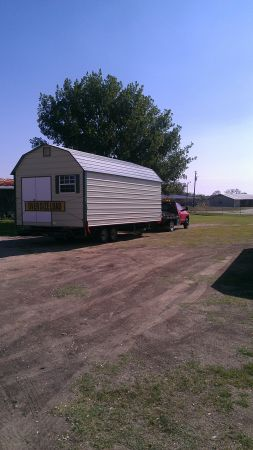 Portable Storage Building and Shed Mover (texas)