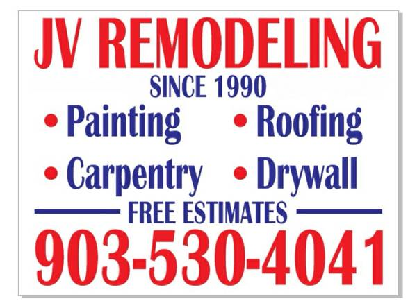 FREE ESTIMATES Remodeling  amp  Painting  serving East Texas since 1990   Tyler  TX