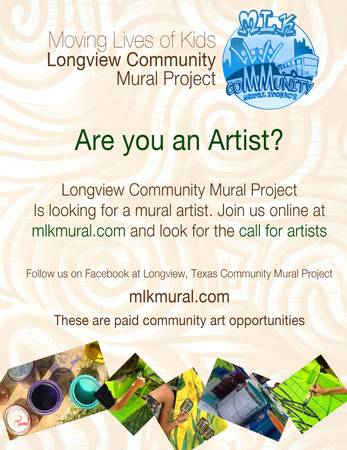 Call for Artists - Longview Community Mural Project  W Hawkins Pkwy  amp  McCann rd