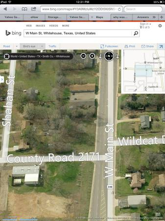 x0024 500 Commercial Lot For Rent  Whitehouse TX   301 W Main Street Whitehouse Tx 75791