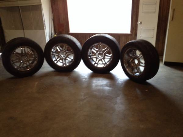 20  chrome rims -   x0024 450  gladewater Liberty City
