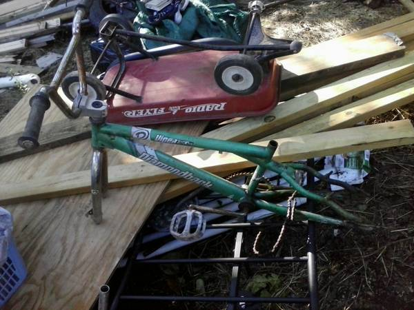 TRUE RARE OLD SCHOOL BMX BARN FIND - $50 (Lone Oak)