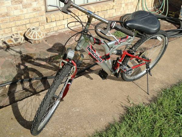Mongoose bicycle - $65 (Omaha, Tx)