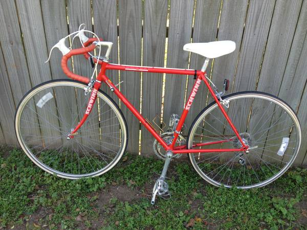 Vintage Schwinn Letour 1987 10 speed Racing Bike - $100 (Wills Point Tx.)