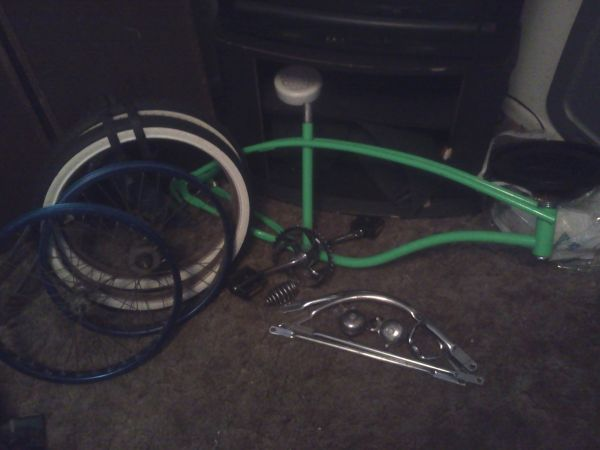 Lowrider Bicycle And another one un completed (Linden TX)