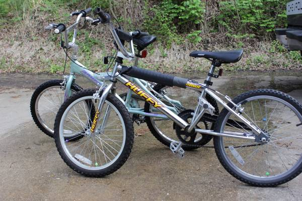 2 kid size bikes 16 and 17 rims - $15 (Kilgore i 20)