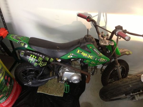 110 Coolster dirt bike - $200 (Whitehouse)