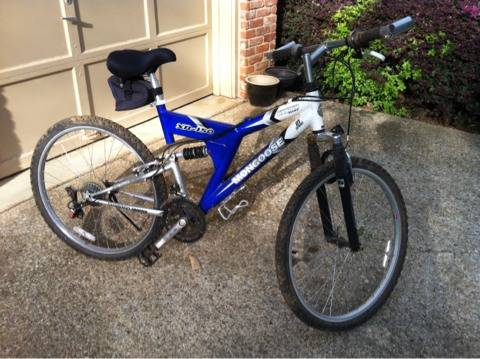 Mongoose XR-150 Full Suspension Mountain Bike - $80 (Tyler, TX)