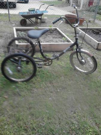 adult folding tricycle trifecta - $100 (lindale)