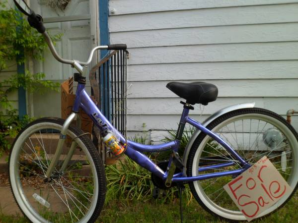 New GIRLS Cruiser bike SWEET - $20 (commerce, tx)
