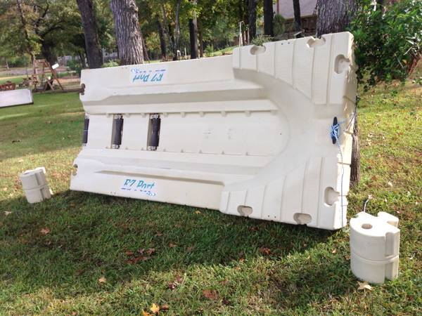 EZ port drive on jet ski dock - $650 (Hawkins)