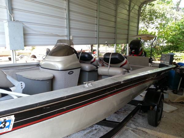 2005 Bass Tracker Pro Crappie 175 - $6500 (East Texas)