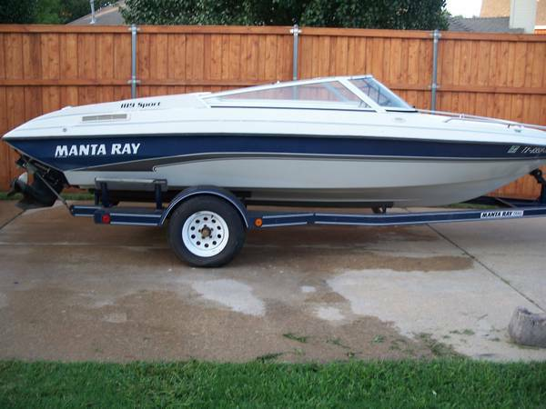 1994 manta ray open bow ski boat 2200 tyler boats - Above ground swimming pools tyler texas ...