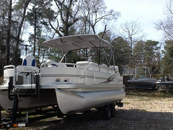 2003 Pontoon Fishing Edition 90 hp Yamaha -   x0024 12400  Montgomery