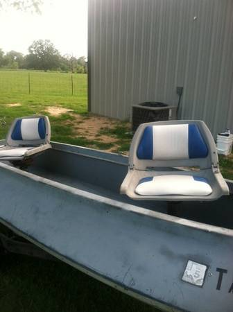 1968 super skeeter bass boat - $350 (alba)