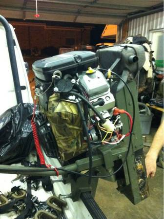 18hp Dixie surface drive mud motor - $1800 (Whitehouse)