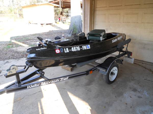 2006 Water Moccasin Pirogue Boat 1200 Shreveport
