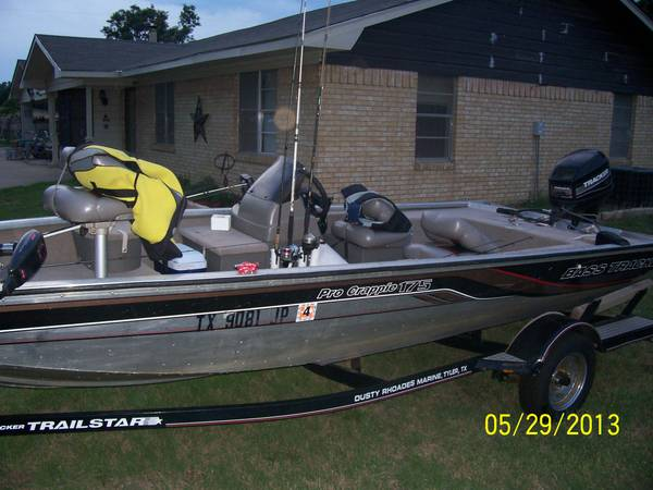 2001 Tracker Pro Crappie 175 - $4750 (lindale)